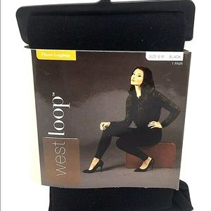 ❤️West Loop Fleece Legging Black S/M 4-8